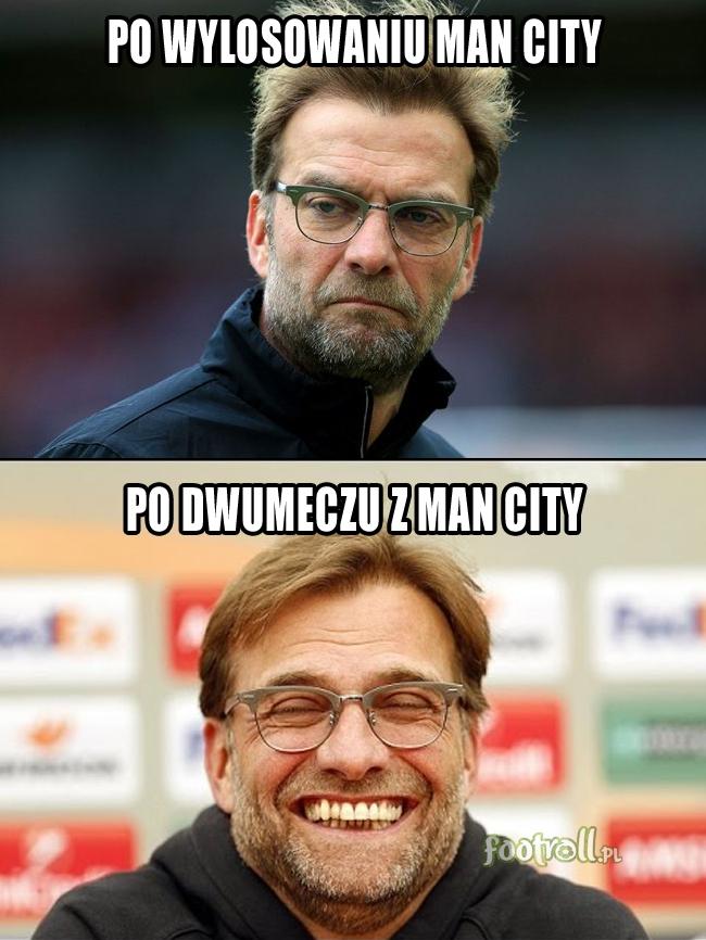 Odmienne reakcje Jurgena Kloppa... :D