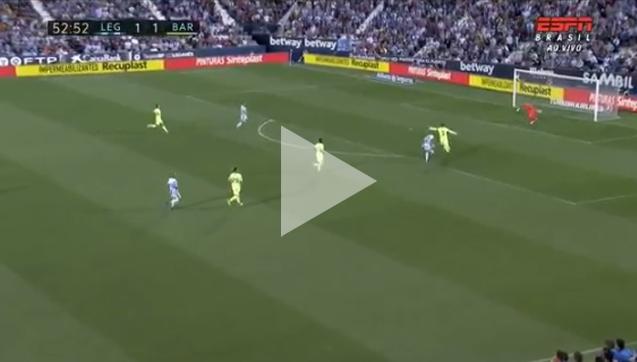 FATALNY błąd Pique i Leganes strzela na 2-1! [VIDEO]
