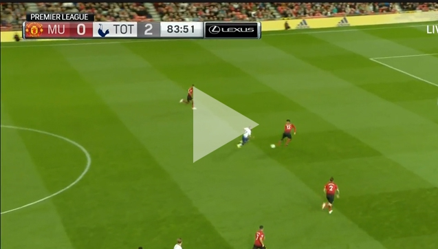 Lucas ośmiesza obronę Man United i strzela na 3-0! [VIDEO]