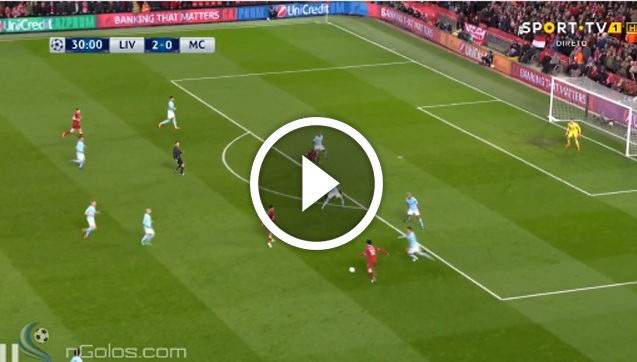 Mane ŁADUJE GOLA z Man City! JUŻ 3-0! [VIDEO]