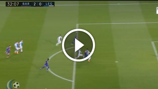 Messi ładuje drugiego gola z Leganes! [VIDEO]