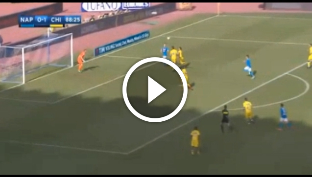 AREK MILIK STRZELA GOLA Z CHIEVO! [VIDEO]