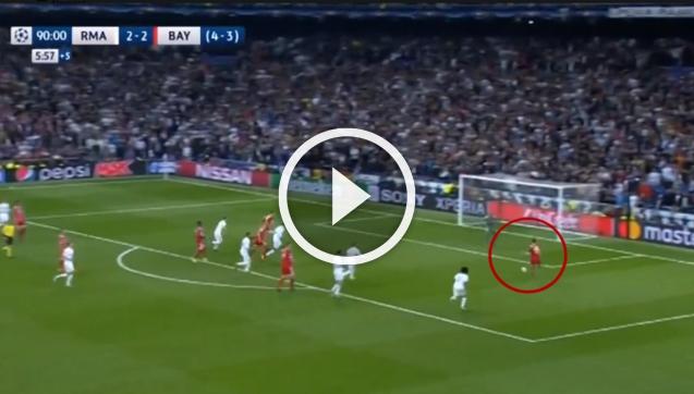 96 minuta, Muller ma piłkę meczową i... [VIDEO]