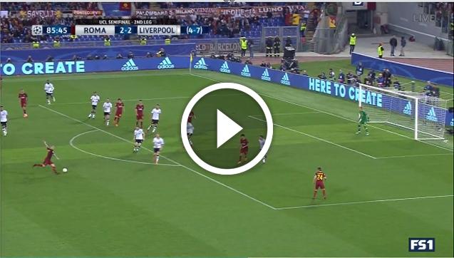 GENIALNY GOL Nainggolana z Liverpoolem! 3-2 [VIDEO]