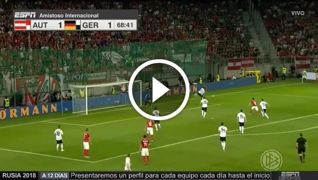 Schopf strzela GOLA na 2-1 z Niemcami! [VIDEO]