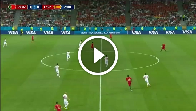 Portugalia 3-3 Hiszpania [SKRÓT MECZU]