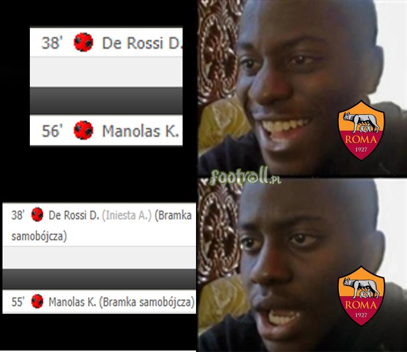 Kiedy twoja drużyna strzela dwa gole z Barceloną, ale.... nie do tej bramki