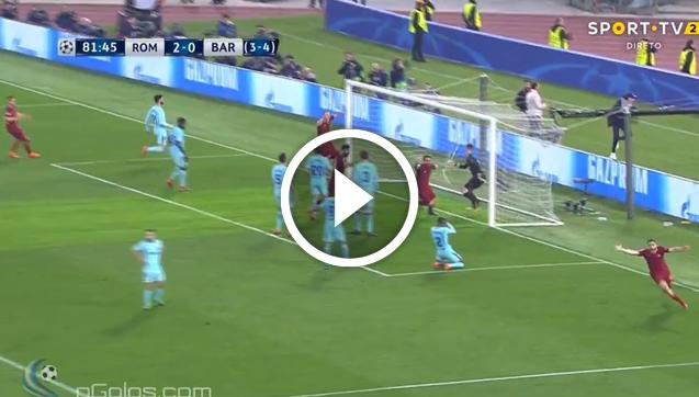 MANOLAS STRZELA NA 3-0 Z BARCELONĄ! [VIDEO]