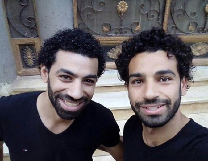 Salah spotkał się ze swoim sobowtórem... :D