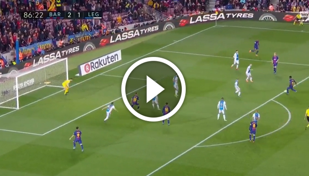 FC Barcelona 3-1 Leganes [SKRÓT MECZU]