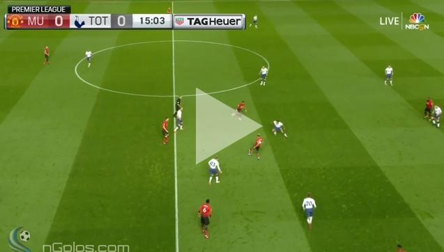 Manchester United 0-3 Tottenham [SKRÓT MECZU]