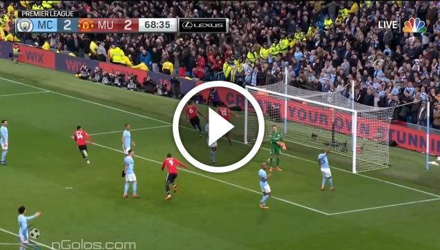 WOW! Smalling strzela gola z Man City! 2-3 [VIDEO]