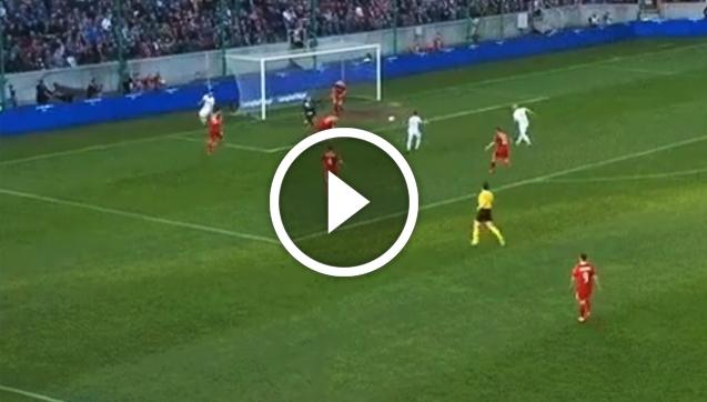 Fatalne PUDŁO piłkarza Legii... xD [VIDEO]