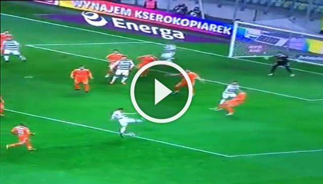 Fake-shot level: Ekstraklasa... xD [VIDEO]