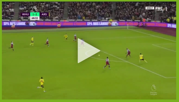 Aubameyang strzela na 3-1 z West Hamem! [VIDEO]