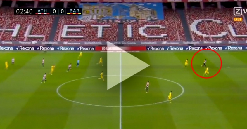 Inaki Williams ŁADUJE GOLA na 1-0 z Barceloną! [VIDEO]
