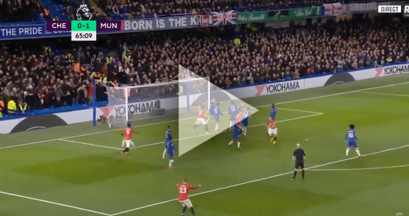 Maguire STRZELA na 2-0 z Chelsea!!! [VIDEO]