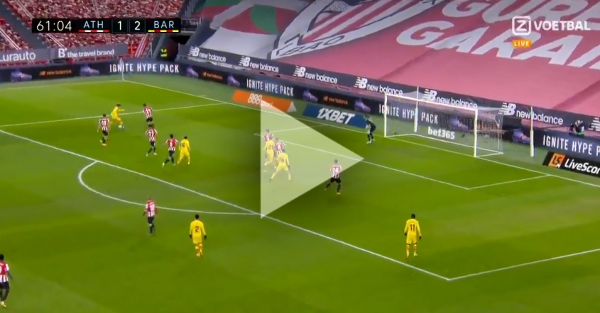 TAK STRZELA Leo Messi na 3-1 z Bilbao! [VIDEO]