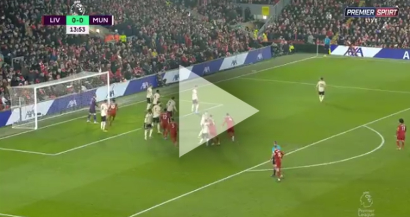 Van Dijk STRZELA GOLA na 1-0 z Man United! [VIDEO]