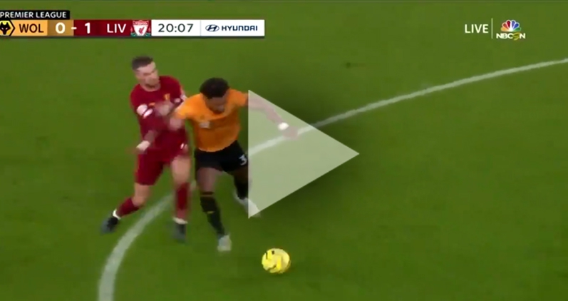 Adama Traoré VS zawodnicy Liverpoolu :D [VIDEO]