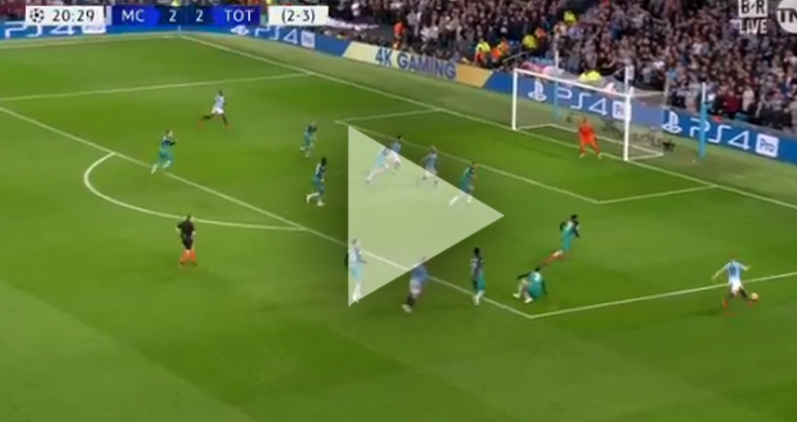 Sterling ładuje GOLA  na 3-2 z Tottenhamem! [VIDEO]