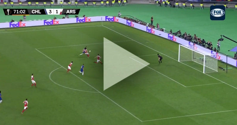 Eden Hazard DOBIJA Arsenal! JUŻ 4-1 [VIDEO]