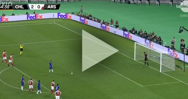 Hazard strzela GOLA na 3-0 z Arsenalem! [VIDEO]