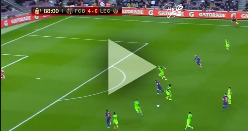 Messi STRZELA GOLA na 5-0 z Leganes! [VIDEO]