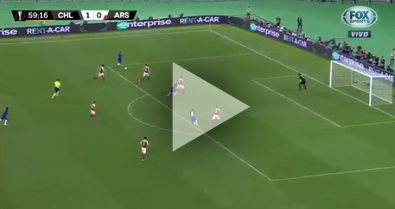 Pedro ŁADUJE GOLA na 2-0 z Arsenalem! [VIDEO]