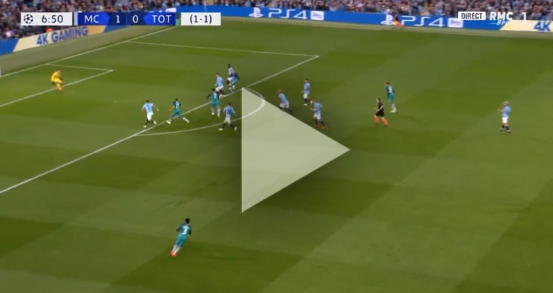 Son ładuje gola na 1-1 z City! [VIDEO]