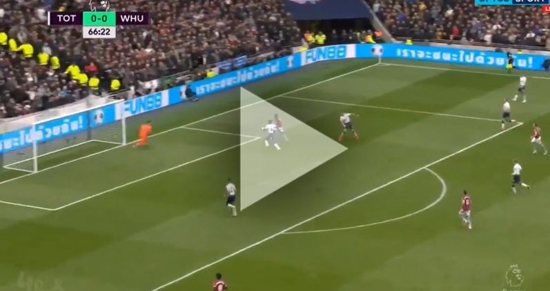 Antonio strzela gola na 1-0 z Tottenhamem! [VIDEO]