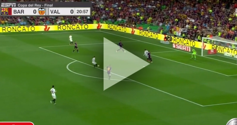 Gameiro ŁADUJE GOLA na 1-0 z Barceloną! [VIDEO]