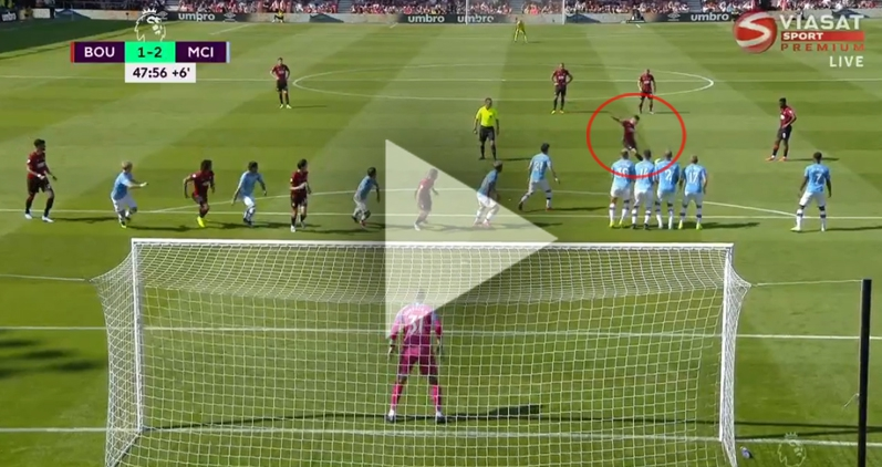 FENOMENALNY gol Wilsona z Man City... WOW! [VIDEO]