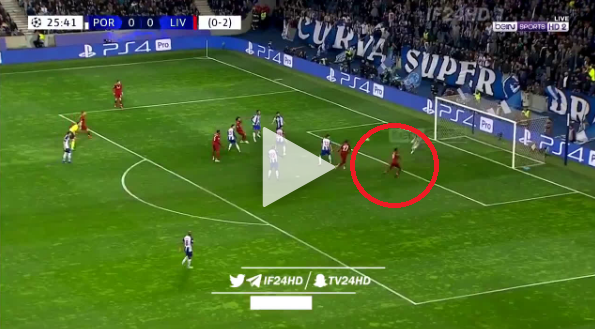 Mane strzela gola na 1:0 z Porto [VIDEO]