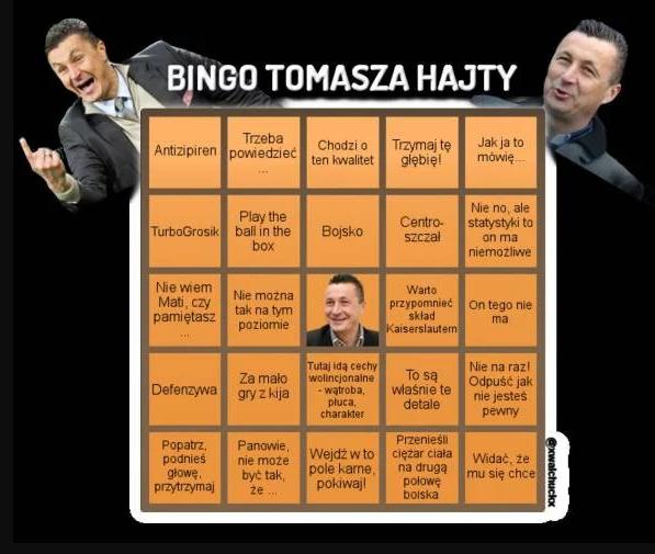 Bingo Tomasza Hajty