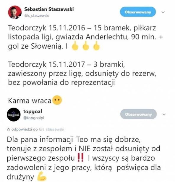 Agencja Teodorczyka wyjaśnia doniesienia dziennikarza