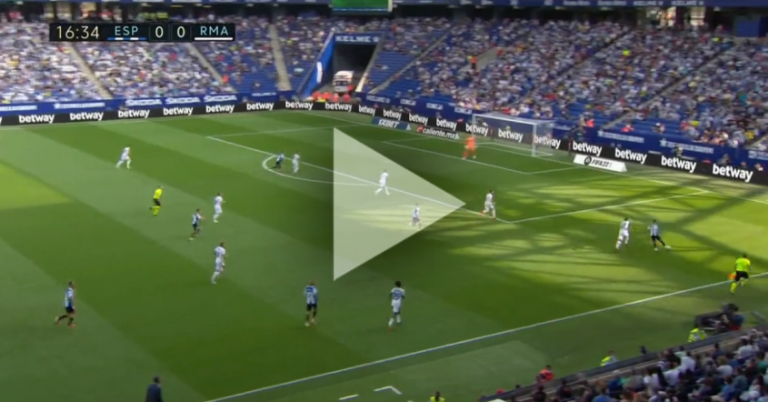 De Tomas ŁADUJE GOLA na 1-0 z Realem Madryt! [VIDEO]