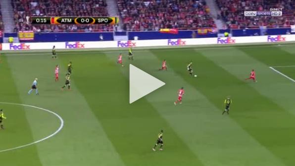 Atletico strzela gola w 22. SEKUNDZIE [VIDEO]