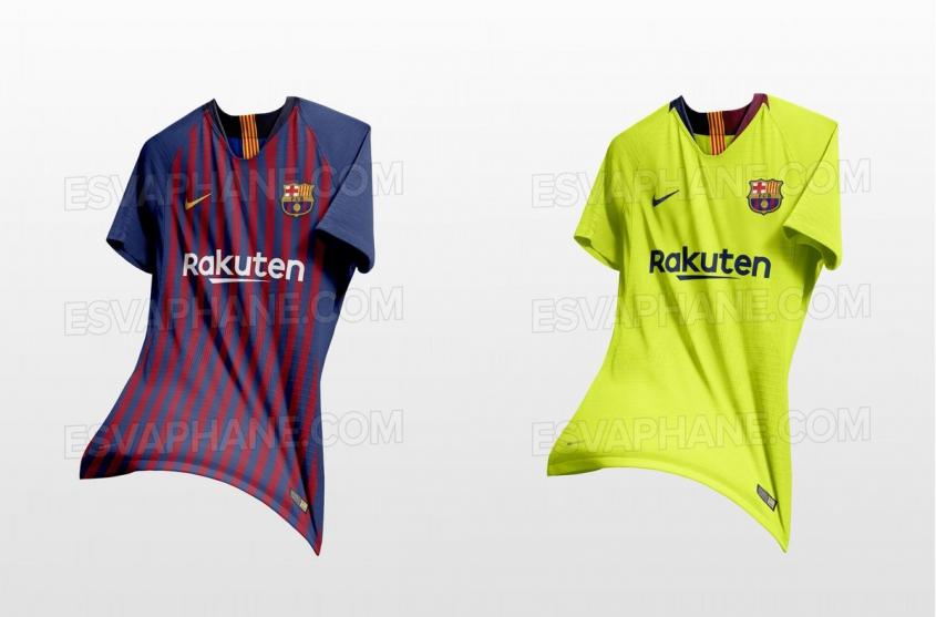PRZECIEK!? Tak będą wyglądać koszulki Barcelony w przyszłym sezonie?