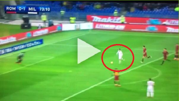 Idealna podcinka Calabrii! Milan prowadzi z Romą 2:0 [VIDEO]