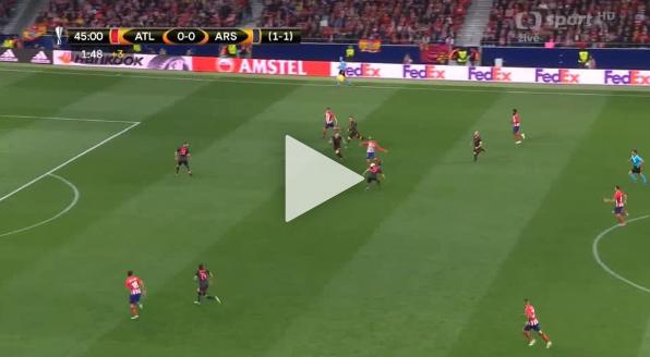 GOL DLA ATLETICO! Diego Costa otwiera wynik spotkania [VIDEO]