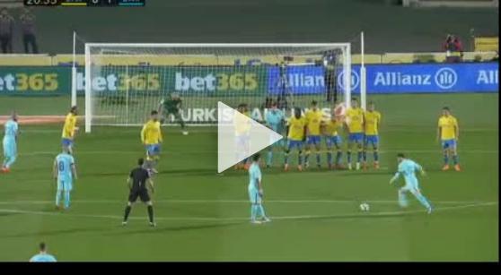 Genialny gol Leo Messiego z rzutu wolnego [VIDEO]