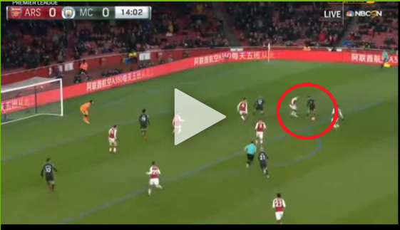 Cudowny rajd Sane i jeszcze piękniejszy gol Silvy! Man City prowadzi z Arsenalem [VIDEO]